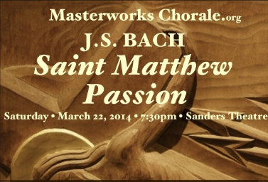 "YpM In Bach ""St. Matthew Passion"""